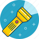 flashlight, lantern, light icon