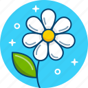 floral, flower, grass, nature, plant icon