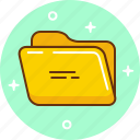 documents, file, folder, office, stackfolder icon