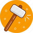 hammer, work, сonstruction icon