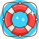 faq, help, lifebuoy, lifesaver, support icon
