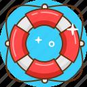 faq, help, lifebuoy, lifesaver, support icon