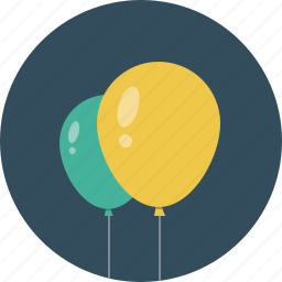 baloon, baloons, celebrate, event, fly icon
