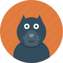 animal, animals, cat icon