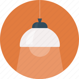 chandelier, light icon