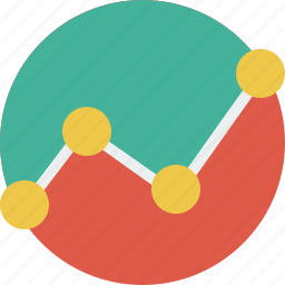 analytics, chart, diagram, graph, report icon