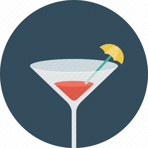alcohol, bar, beach, cocktail, glass, holiday icon