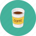 cappuchino, coffee, cup, espresso, hot drink icon