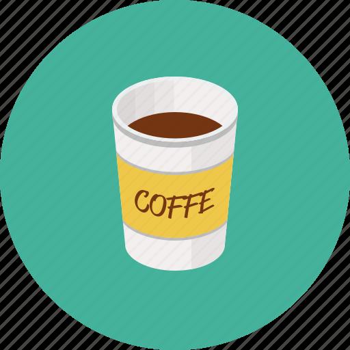 cappuchino, coffee, cup, espresso, hot drink icon
