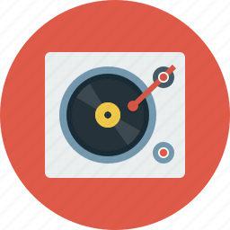 audio, dj, music, turnable icon