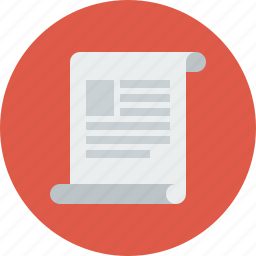 dock, document, documentation, file, note, paper, text icon