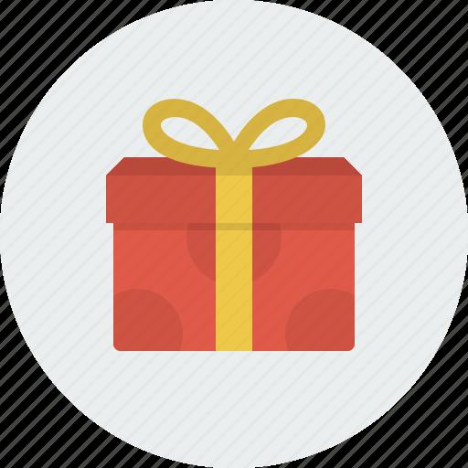 box, cristmas, gift, present, shopping icon