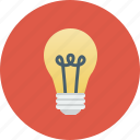 bright, bulb, idea, lamp, light, lightbulb, off, on, shine icon