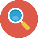 explore, find, look, magnifier, search, view, zoom icon