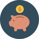 bank, cash, coin, coupon, discount, money, piggy, sale, save, saving icon