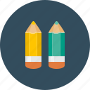 color, design, draw, pencil, pencils icon