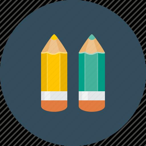 color, design, draw, pencil, pencils icon