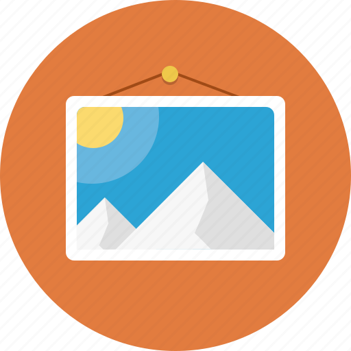 graphic, image, photo, picture icon