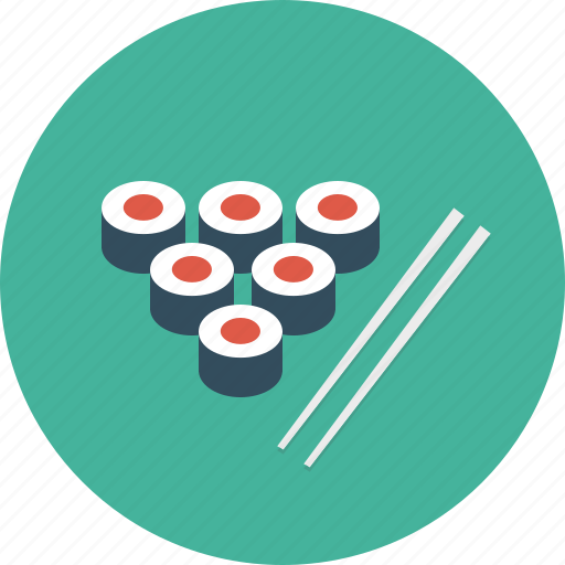 dinner, food, rolls icon