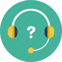 audio, headphones, support icon