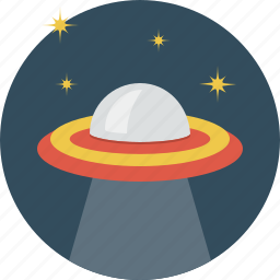 flying, plate, space, ufo icon