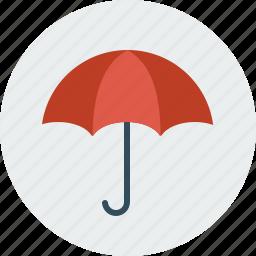 rain, umbrella, weather icon