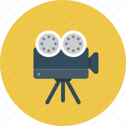 camera, cinema, movie, video icon