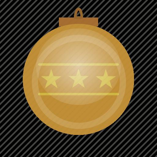 ball, christmas, decor, game icon