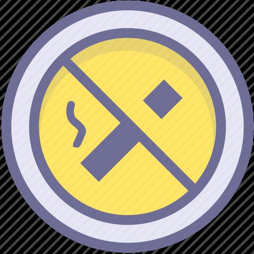 ban, block, no smoking, prevention, stop icon