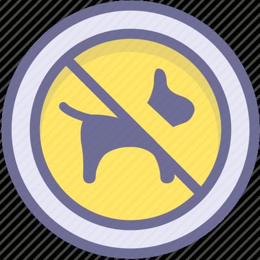 ban, block, no pets, prevention, stop icon
