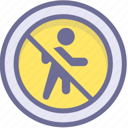 ban, block, no access, prevention, stop icon