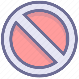 ban, block, prevention, stop icon