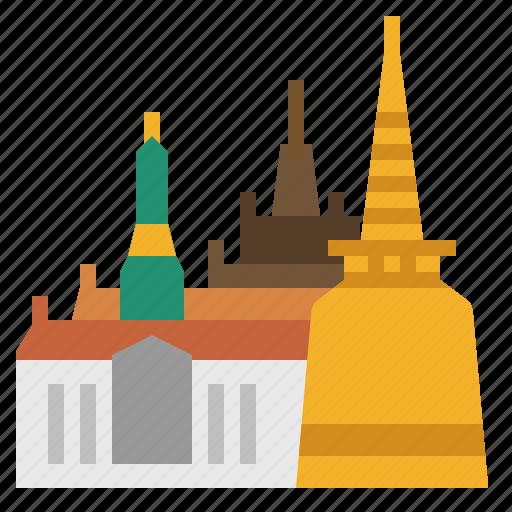 Bangkok, building, grand palace, landmark, siam, thai, thailand icon - Download on Iconfinder