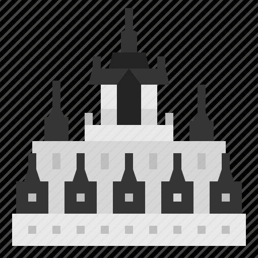 Bangkok, building, castle, landmark, metal castle, thai, thailand icon - Download on Iconfinder
