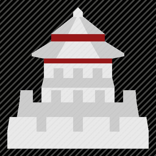 Bangkok, building, fort, landmark, pommahakan fort, thai, thailand icon - Download on Iconfinder