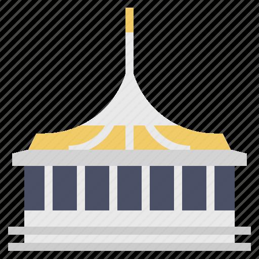 Architecture, bangkok, building, landmark, rama ix park, thai, thailand icon - Download on Iconfinder