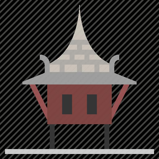 Bangkok, building, thai, thai house, thailand icon - Download on Iconfinder