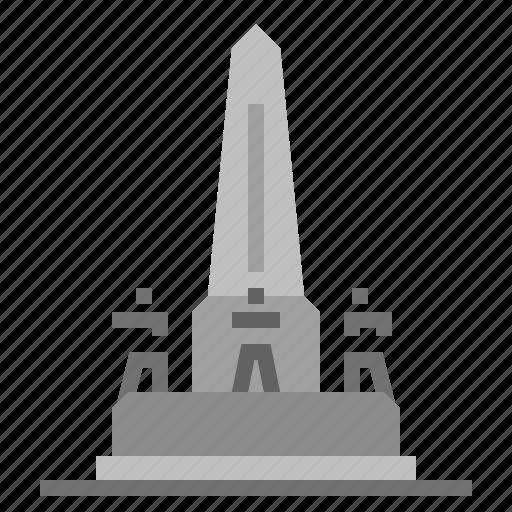 Bangkok, building, landmark, monument, thai, thailad, victory monument icon - Download on Iconfinder