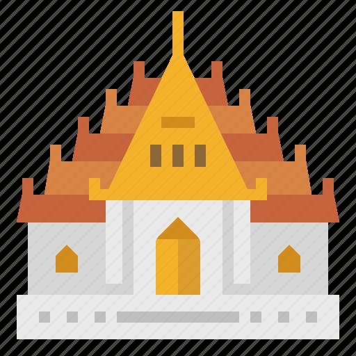 Bangkok, landmark, temple, thai, thailand, wat, wat benchamabophit icon - Download on Iconfinder