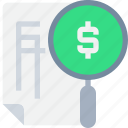 banking, business, document, fiancial, invoice, money icon