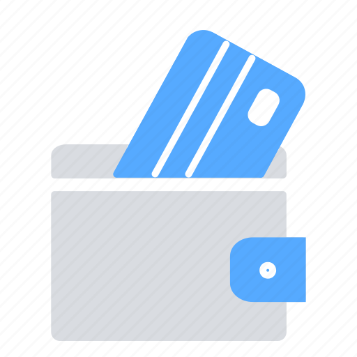 credit card, money, pay, payment, purse, wallet icon