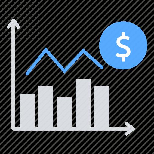 Bar chart, finance, investment, money, sales, statistics icon - Download on Iconfinder