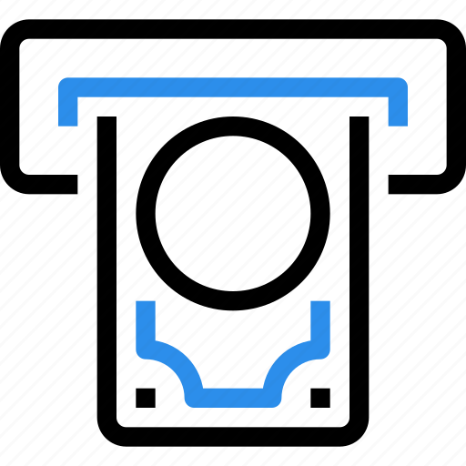 atm, bank, banking, business, finance, money, payment icon