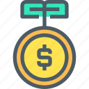 bank, banking, finance, investment, making, money icon