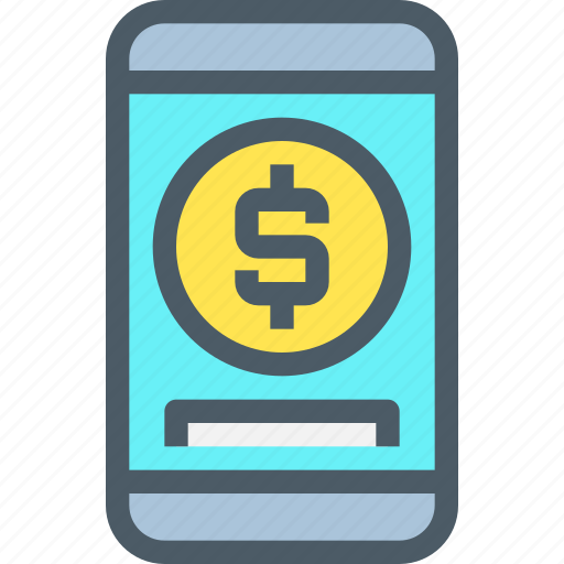 bank, banking, finance, mobile, payment, smartphone icon