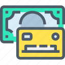bank, banking, card, credit, finance, payment icon