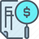 bank, document, fiancial, file, finance, paper icon