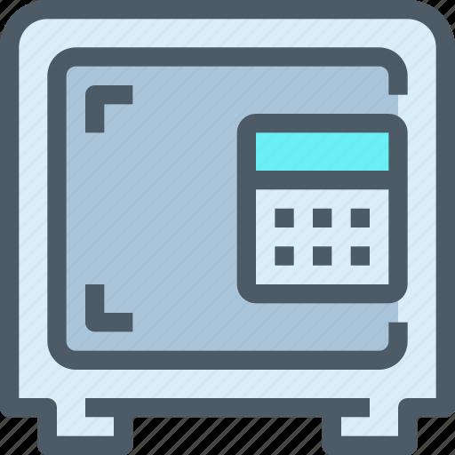 bank, banking, finance, investment, safe, save, saving icon
