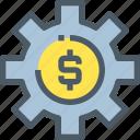 bank, banking, finance, gear, making, money, process