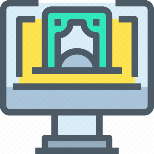 bank, banking, finance, money, online, payment icon